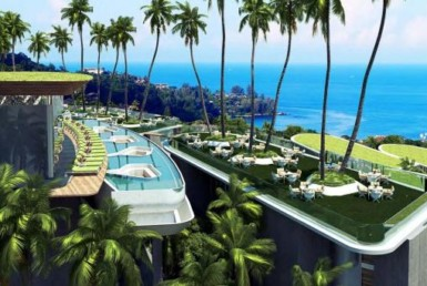 Luxury Sea View Condominium Within Amusement Park In Kamala ID.18KA113 4