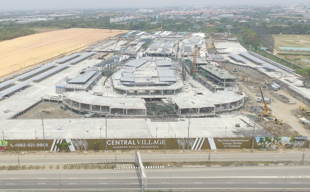 Minister calls for probe on legality of the new Central Village luxury mall at BKK